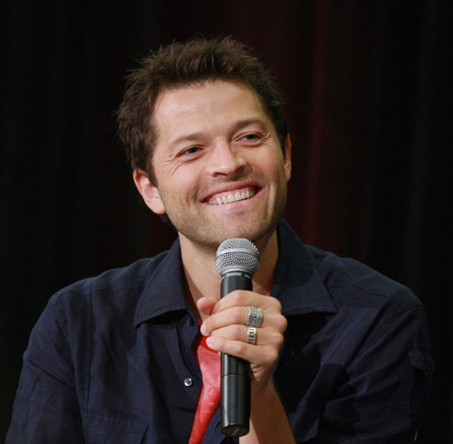 Misha Collins At A Panel  Misha Collins Resume